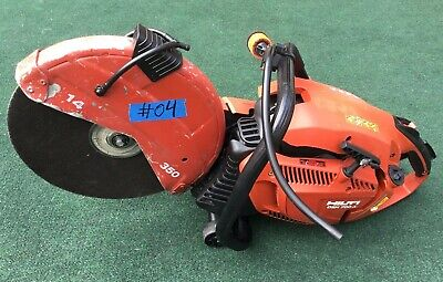 Hilti Dsh 700-x Gas Saw Lks Good For Parts Only Not Working 04 Fast Ship