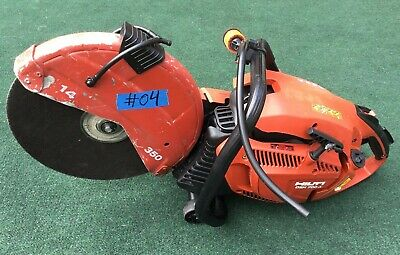 Hilti Dsh 700-x Gas Saw For Parts Only Not Working 04 Fast Ship