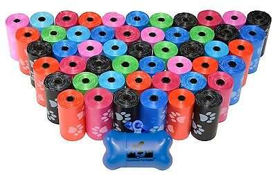 Dog Poop Bags for Pet Waste, Clean Up Refills on a Roll (Variety Sizes & (Pet Waste Bag Refills)