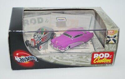 100% Hot Wheels - Rod & Custom Magazine Limited Edition 2 Car Set, 32 Ford, Merc