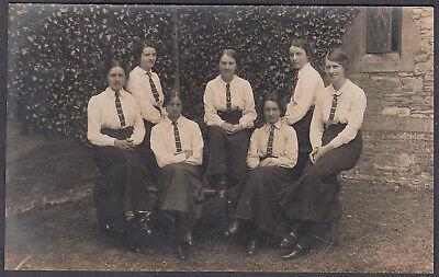 Protheroe Bristol & Clifton Photographer; Unidentified School Real Photo PPC; B