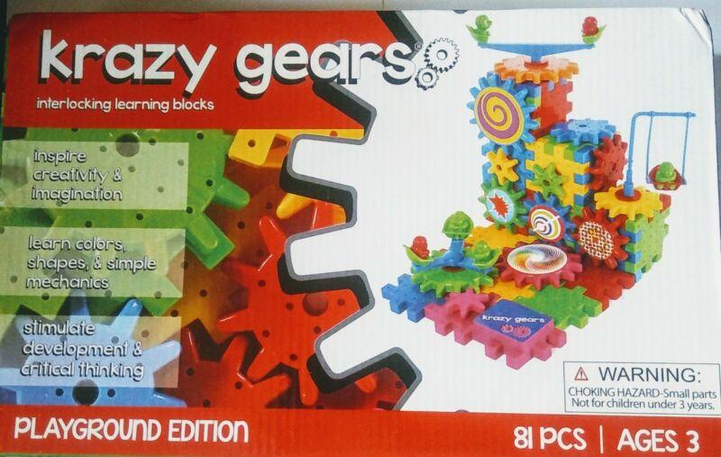 Krazy Gears Interlocking Learning Blocks