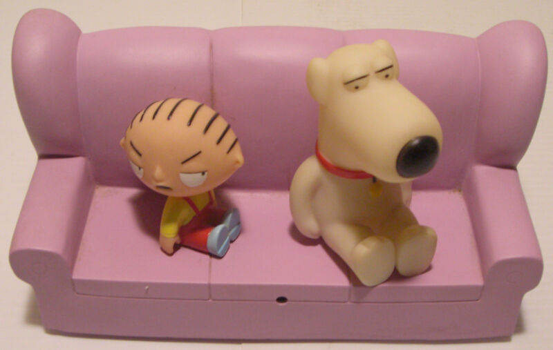 2006 Collectible Family Guy TV Talkers Brian & Stewie