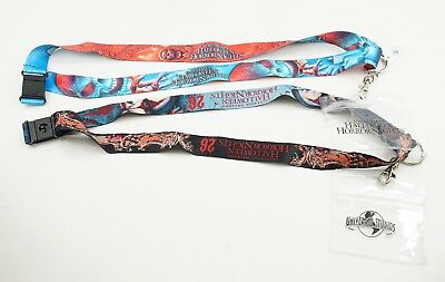 New Halloween Horror Nights Universal Studios HHN 26 & 27 Chance Skull Lanyards  - 26 Halloween