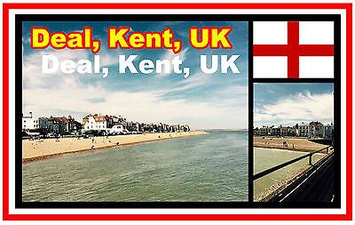 Geschäft Kent UK - Souvenir Neuheit Kühlschrank-magnet - Brandneu -