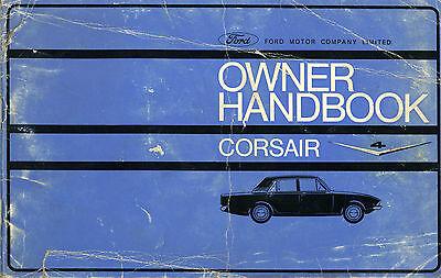 Ford CORSAIR Owner Handbook