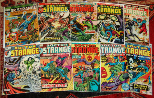 Doctor Strange set #1-10, Marvel 1974-75, Englehart, Brunner, Colan