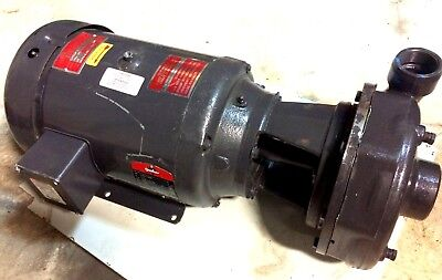 Gusher General Service Ind. Pump 100 Gpm Tdh138ft Baldor 10hp 3-phase Motor New
