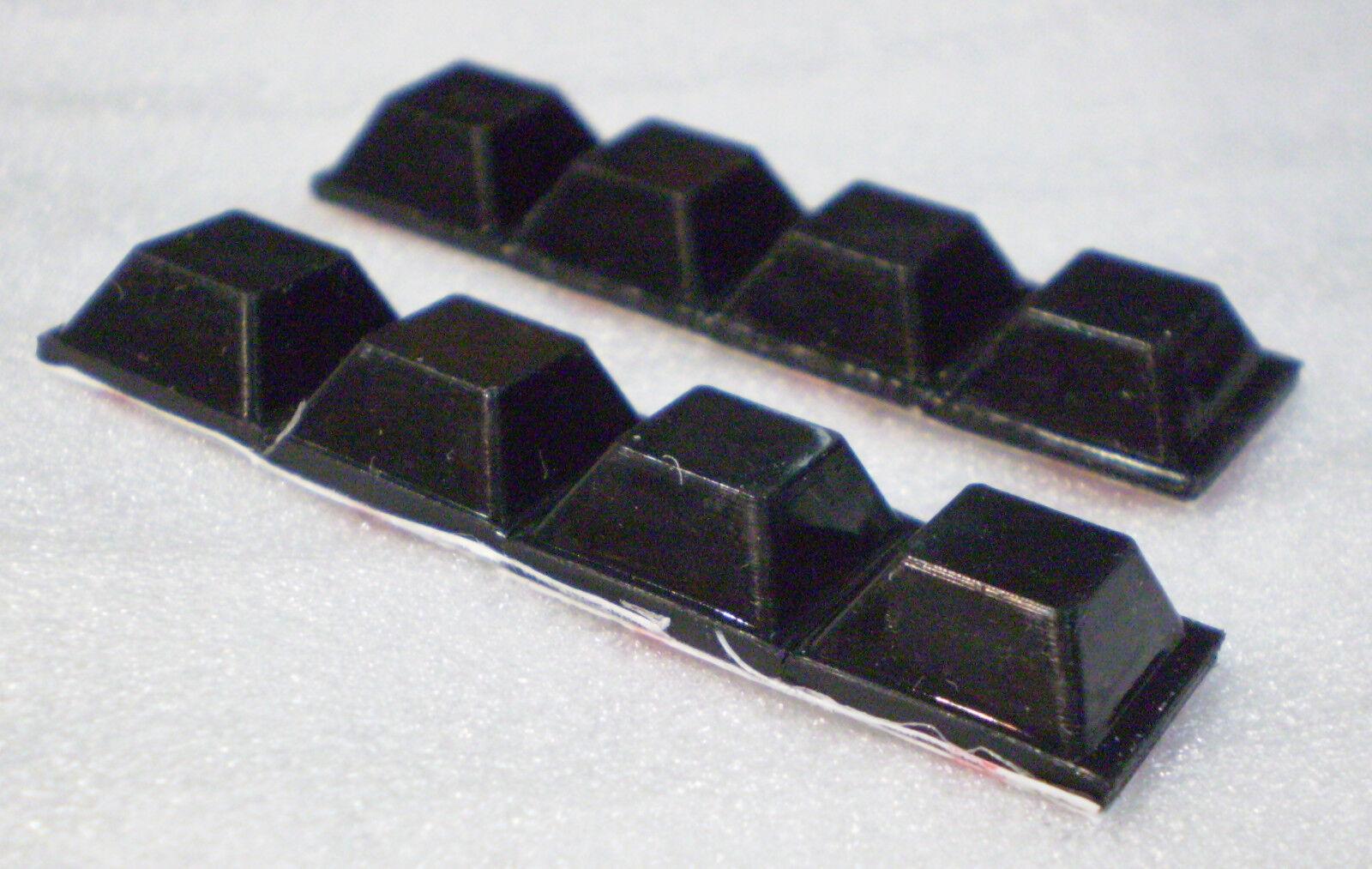 8 X SCHWINGUNGSDÄMPFER LAUTSPRECHER FÜßE FÜSSE ENTKOPPLER ABSORBER BOXENFÜSSE