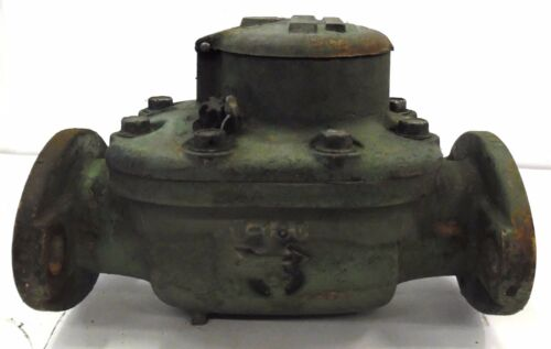 """ROCKWELL W-160 2"""" FLANGED WATER METER"""