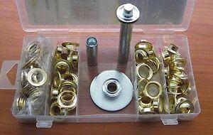 Ösenwerkzeug Ösen-Installations-Set 103 tlg Einschlagstempel Locheisen Ösenzange