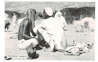 India,Wayside Barber,Ethnic,c.1950s