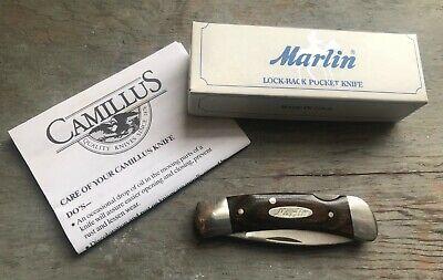 Marlin Firearms Vintage Lock Back Folding Knife Camillus 887MF