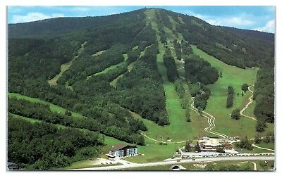 Bromley Mountain Ski Resort near Peru, VT Postcard
