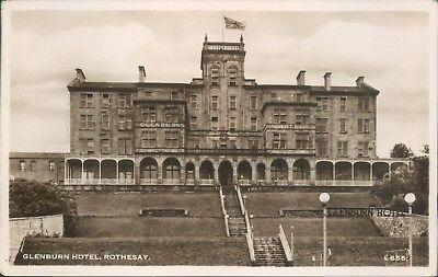 Real photo glenburn hotel hendersons real photo 1952