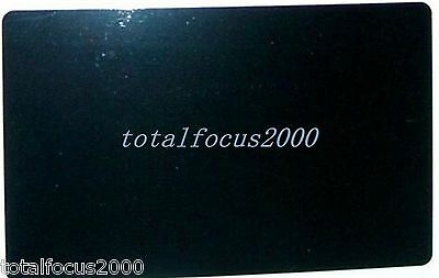 100pcs Laser Engraved Metal Business Cards Blanks 3.4x2.1