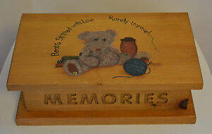 Wooden Memories Box