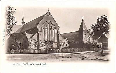 Noel Park near Wood Green. St Mark's Church in Chester Vaughan Series. ()