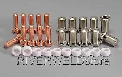 Pt-2327 Plasma Cutter Cutting Consumable 33366 33367 33369 Nozzles 50amp 30pcs