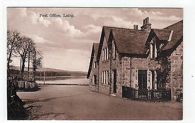 POST OFFICE, LAIRG: Sutherland postcard (C4810).