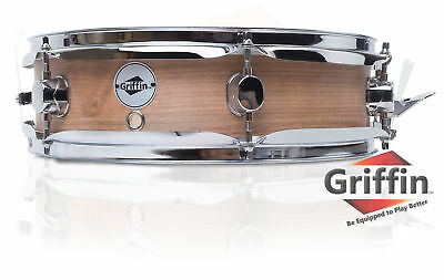 """Piccolo Snare Drum by Griffin - 13"""" x 3.5"""" Oak Wood Poplar Shell Percussion"""
