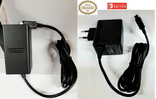 Official Nintendo Switch Power Supply AC Adapter (European version) Brand NEW