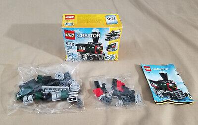 Lego Creator 31015 3 in 1 train set locomotive NEW SEALED