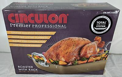 New Circulon Premier Professional Roaster 18 X 15 with Rack