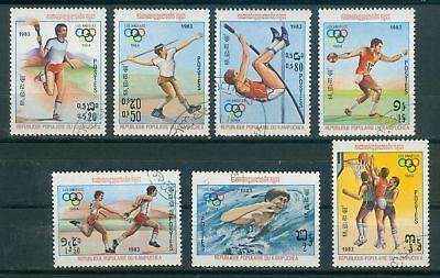 KAMBODSCHA 454 460 O OLYMPISCHE SPIELE 1984