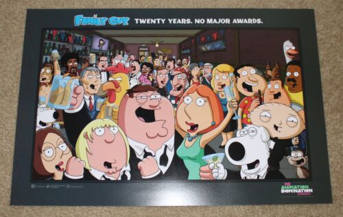 SDCC 2019 EXCLUSIVE FOX ANIMATION DOMINATION FAMILY GUY POSTER