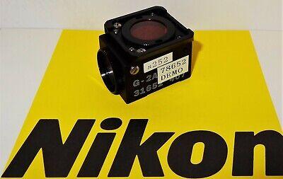 Nikon Green G-2a Fluorescent Microscope Filter Cube Labophot Optiphot Tmd