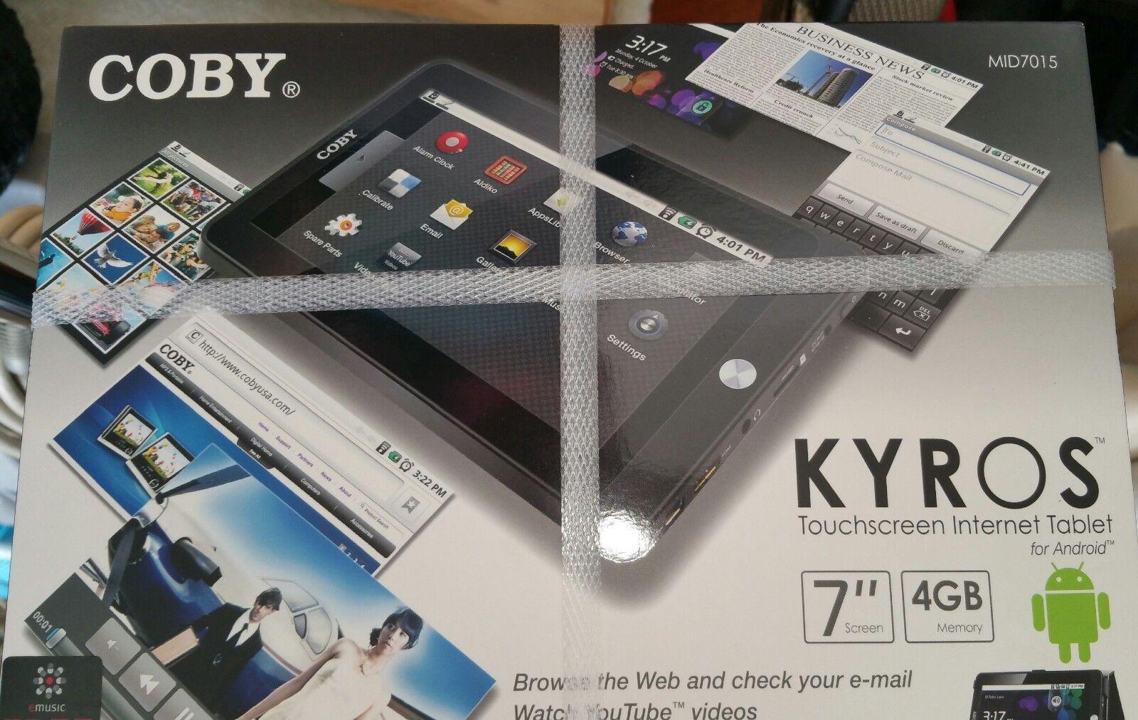Coby Kyros MID7015 4GB, Wi-Fi, 7in - Black