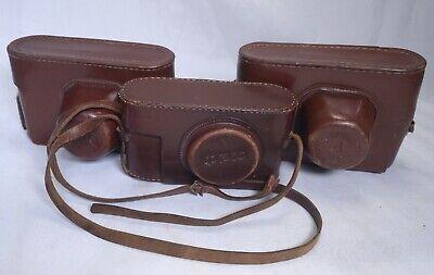 FED 1 ZORKY 4 6 Industar Lens Vintage Film Camera Collection USSR Soviet Russia