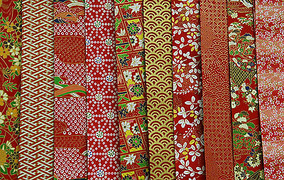 Traditional Japanese Chiyogami Washi Yuzen Paper ~ Size 15 x 15cm ~ 100 Sheets