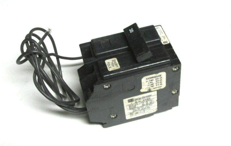 * Cutler-Hammer 30A, 1P Circuit Breaker w/Shunt Trip Cat# BAB1030S .. H-53F
