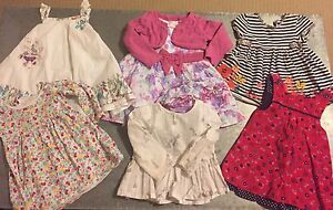 Baby Girls 9-12 month summer dresses Cremorne North Sydney Area Preview
