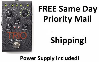 New DigiTech Trio Band Creator Guitar Effects Pedal FREE USA Priority Mail