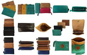 Beautiful selection of genuine calf leather handmade wallets Duncraig Joondalup Area Preview