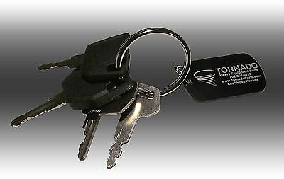 Jcb Heavy Equipment Construction Ignition Key Set 4 Keys