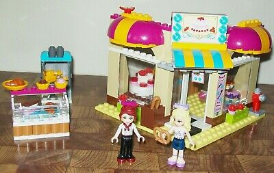 """LEGO Friends  #41006 """"Downtown Bakery"""" - Complete with Manual"""