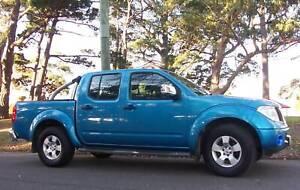 2008 Nissan Navara dual cab 6 speed manual p/up ute