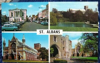 England St Albans Multi-view - unposted