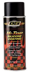 DEI Exhaust Wrap Header Downpipe Silicone Coating Black High Temp Spray 010301