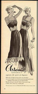 1950 Vintage ad for Artemis Lingerie  (092212)