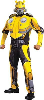 Transformers Adult Costumes (Transformers Bumblebee Movie  - Adult Deluxe Bumblebee)