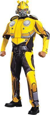 Transformers Bumblebee Movie  - Adult Deluxe Bumblebee Costume](Transformers Adult Costumes)
