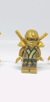 LEGO Ninjago GOLDEN NINJA (LLOYD) Minifigure Golden weapons 70505 Gold