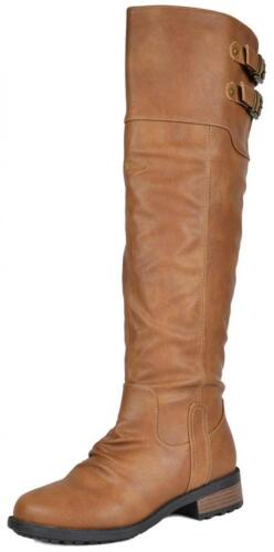 DREAM PAIRS Women's Knee High and up Riding Boots