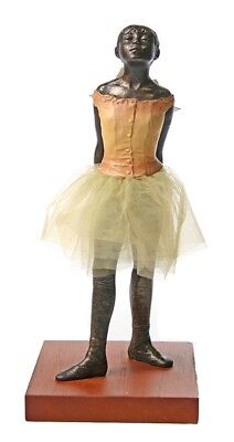 Degas Little Dancer - Degas Little Dancer Fourteen Years Ballerina Ballet Sculpture Statue Tutu 8.5H