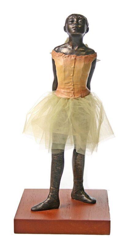 Degas Little Dancer Fourteen Years Ballerina Ballet Sculpture Statue Tutu 8.5H